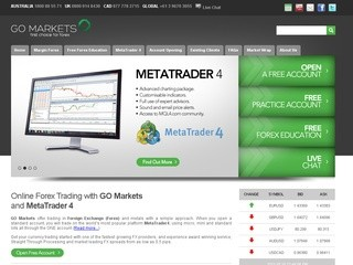 GO Markets reviews