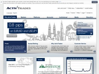 ActivTrades reviews