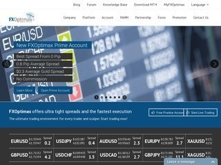 Profil dan Review Broker FXOptimax