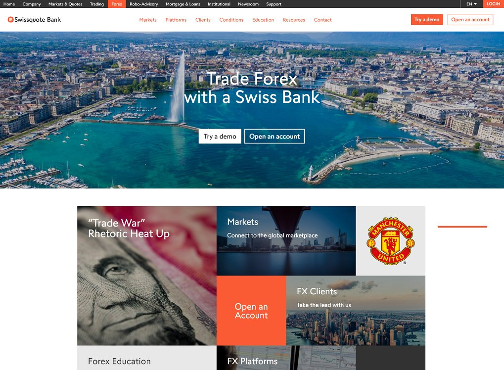 Swissquote forex review