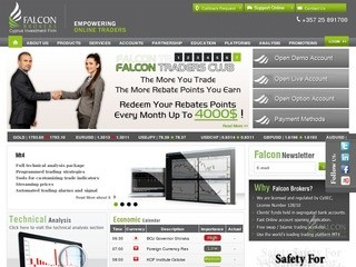 Falcon Brokers reviews