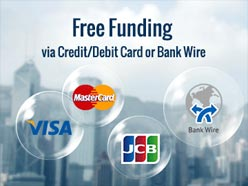 Forex credit card funding