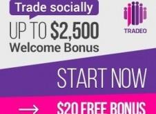 Tradeo Forex Bonus