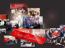 IronFX Anniversary Celebration 100 Bonus