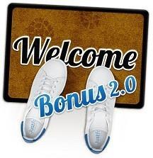 JustForex welcome bonus