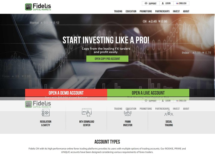 Fidelis forex review