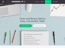 NordFX Homepage