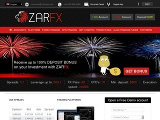 ZarForex Broker