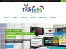 Trade12 Homepage