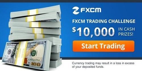 FXCM's $10,000 Monthly Challenge