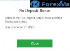 ForexMart no deposit bonus